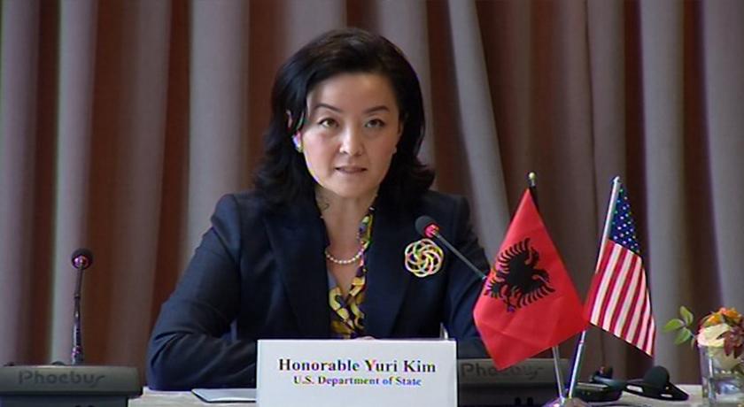 Reforma zgjedhore, ambasadorja e SHBA Yuri Kim do të takoj Këshillin Politik në orën…