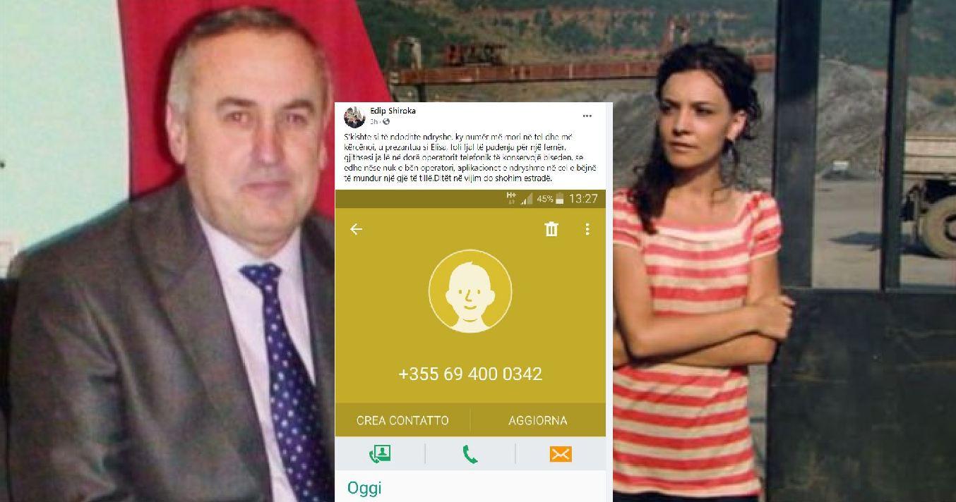 """""""Elisa Spiropali më kërcënoi"""", ish-kreu i PS: Foli fjalë të padenja për një femër"""