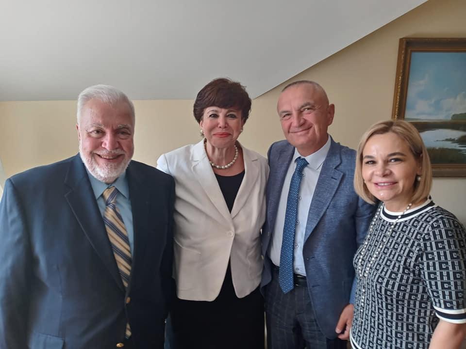 Ilir Meta dhe Monika Kryemadhi vizitë në SHBA, lobisti libanez nxjerr fotot nga takimi. Ja çfarë shkruan